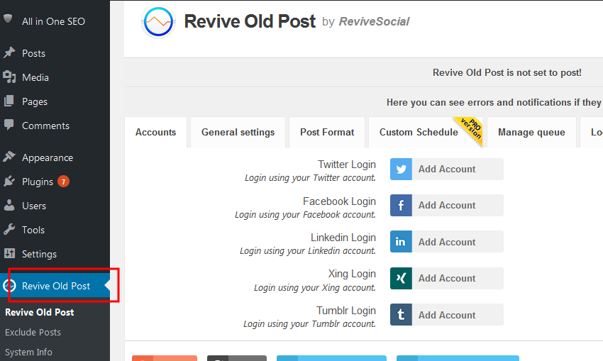 How to Share Old Blog Posts Automatically To Social Media Networks
