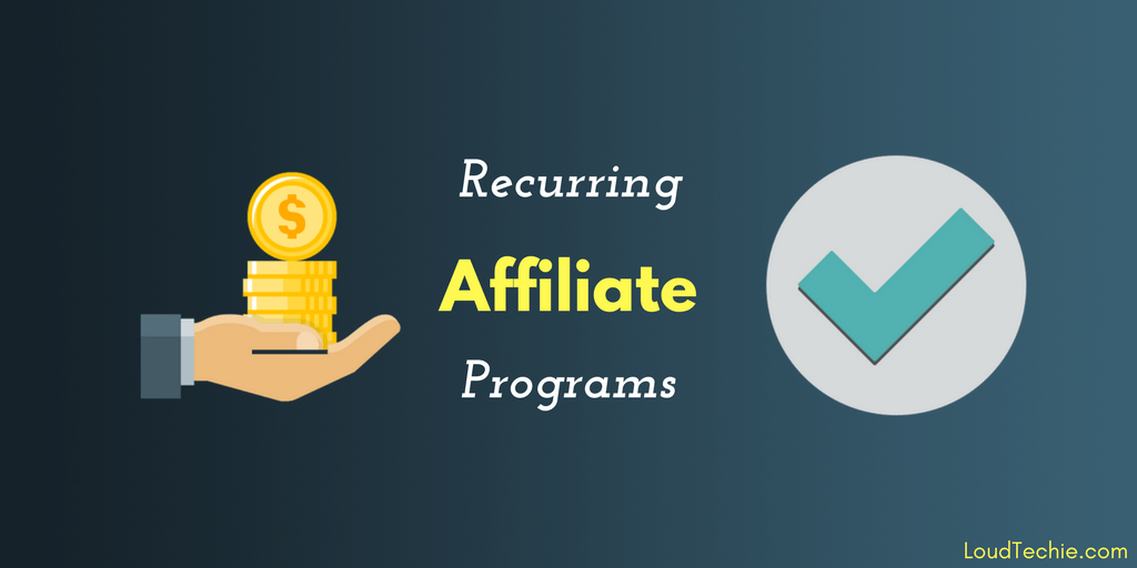 Best Recurring Affiliate Programs