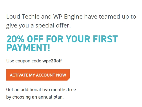 WPEngine Discount Coupon 2017